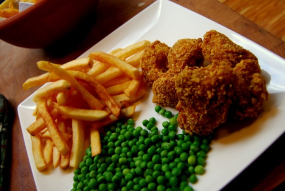 Thaise kipnuggets | Puur Eten
