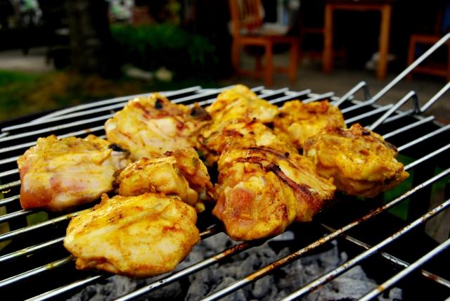 recept supermalse kerrie kip voor de BBQ