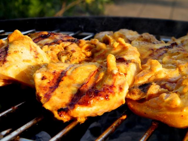 Recept supermalse kerrie kip voor op de BBQ