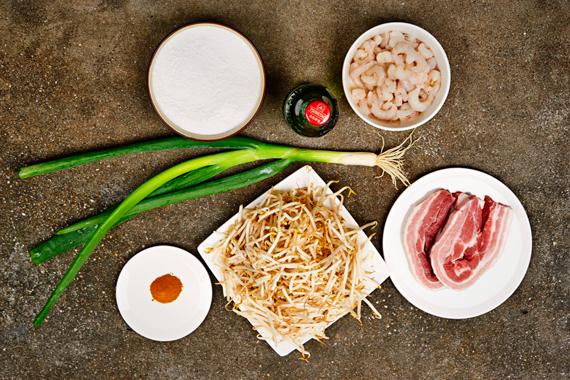 Vietnamese pannenkoeken: Banh Xeo | Ingrediënten