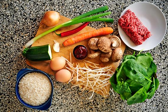Zelf bibimbap maken |Ingrediënten