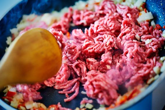 Zelf bibimbap maken |Gehakt bakken