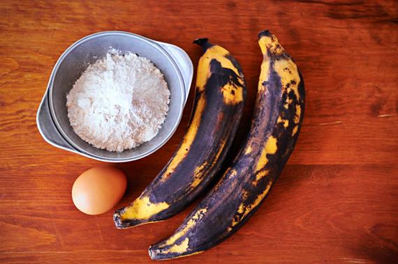 Gebakken banaan (Pisang Goreng) Ingrediënten