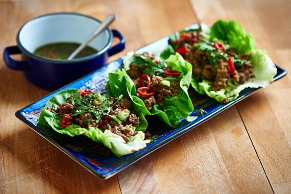 Aziatische groentewraps | Puur Eten