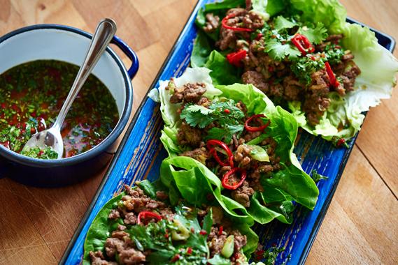 Aziatische groentewraps - Puur Eten